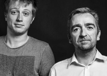 The two founders of e-attract