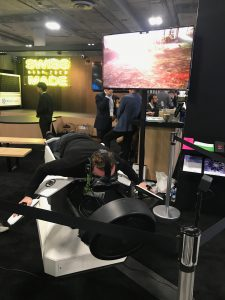 Flight simulation at the CES